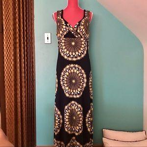 NAVY PEACOCK DRESS 👗